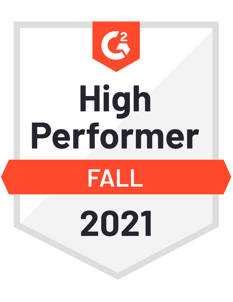 G2 High Performer - Patient Engagement Solution Reviews